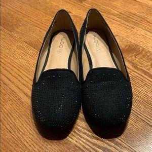 Aldo Rhinestone Studded Loafers